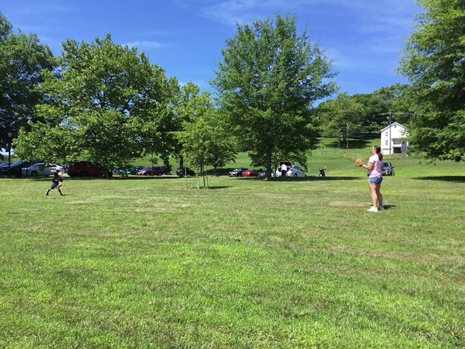 The rain has stopped and the sky is blue, and it is a great day to have some fun.  Whether on or off campus, what are you doing on this beautiful day.  #alleganycollegeofmaryland #ExperienceACM #sunnyday #beautifulday #catch #FunInTheSun<br>http://pic.twitter.com/73NL3XPKjM