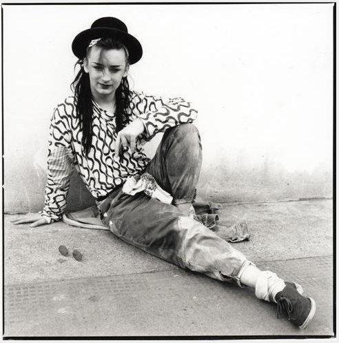 Happy birthday to Boy George. Photo by Janette Beckman, 1982.