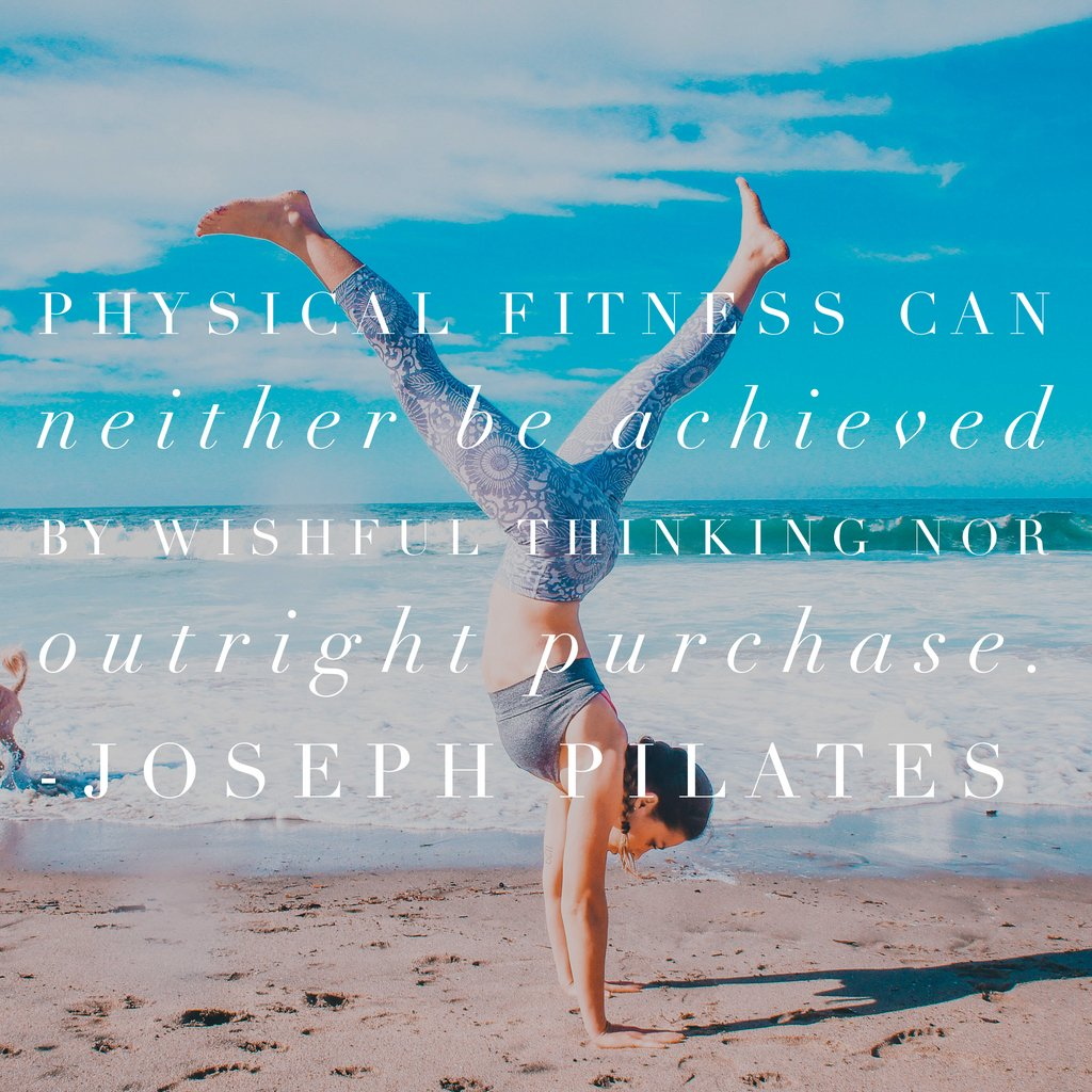 Fitness must be worked for, not wished for... #jessicaschatz #thecoreexpert #joesphpilates #pilates #quotesofthedaypic.twitter.com/Bpf7R6HDWX