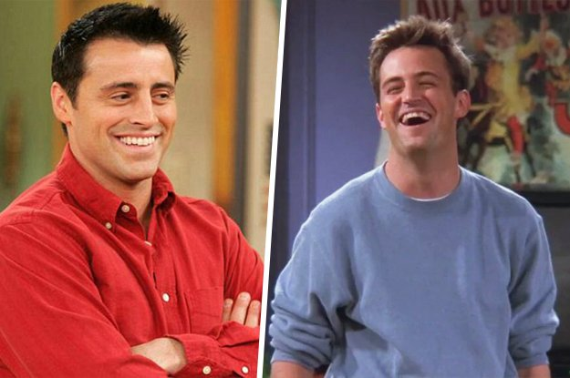 Are You More Like Chandler Bing Or Joey Tribbiani At Friendstv
