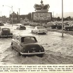 Image for the Tweet beginning: #OTD in 1955: Hail and
