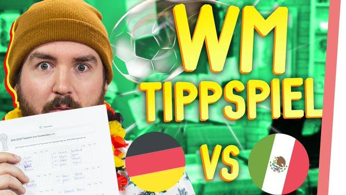 Das große GMI WM TIPPSPIEL! @MissesVlog & @Sturmwaffel haben ihre Tipps schon abgegeben! STIMMT auch ab unter #GMI_Weltmeister! Foto