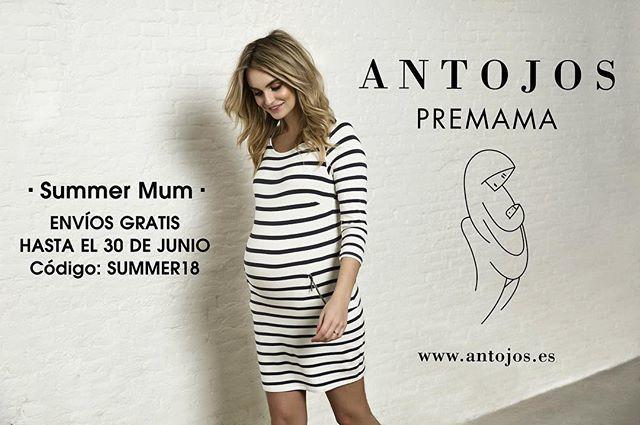17100ce387b Envíos gratis en todos tus pedidos hasta el 30 de junio en nuestra tienda  online  summer  mum  enviosgratis  moda  premama  tiendaonline  shoponline  ...