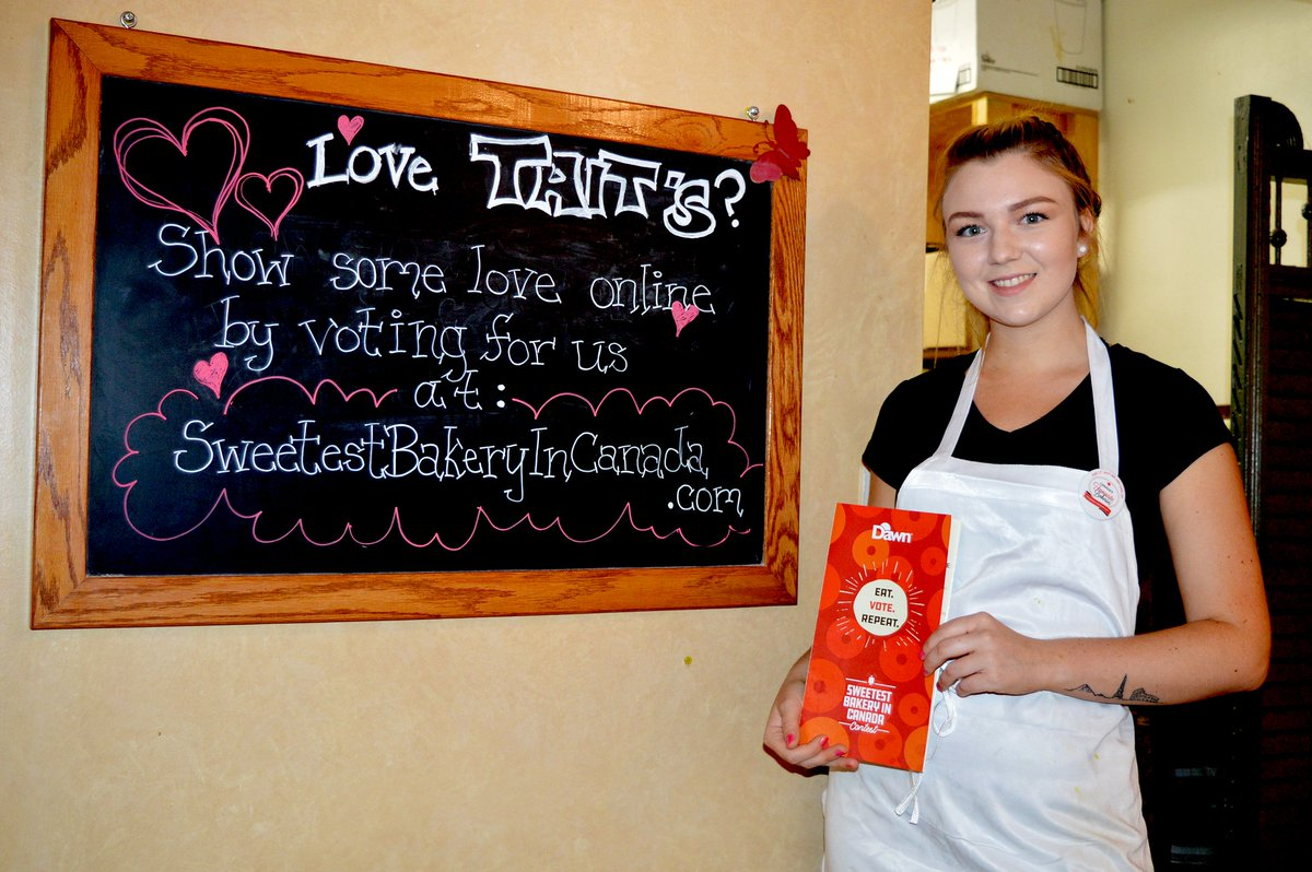 Vote early, vote often.... #SweetestBakery #Brockville   http://www.recorder.ca/2018/06/14/taits-seeks-sweet-prize…