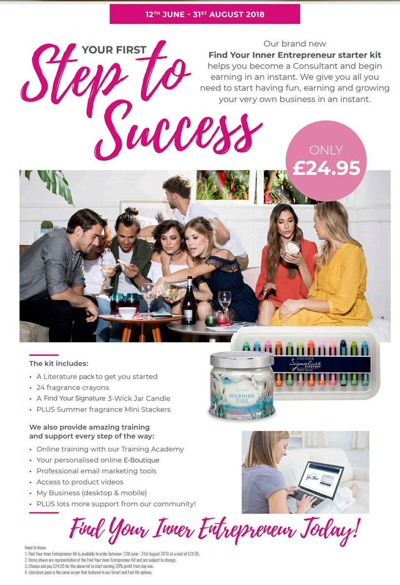 Pollie Partylite Consultant On Twitter Oh Wow Start A Business For
