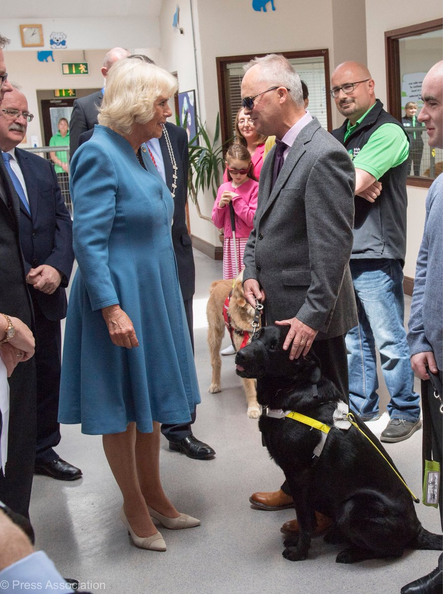 """When meeting next time, as a friend"""" guide dog in shizuoka."""