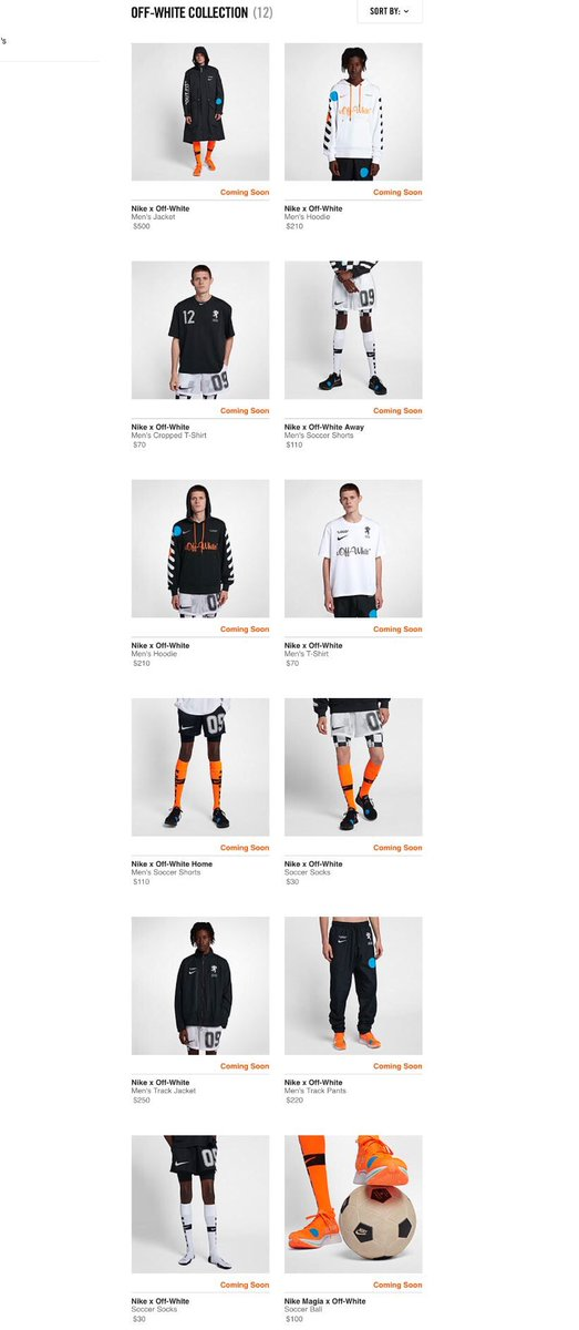 b4a2d186f440c Off-White x Zoom Fly Mercurial Flyknit  SNKRS  Black http   bit.ly 2y6ZXwK  Orange http   bit.ly 2t6fRlj Football Mon Amour  Nike   http   bit.ly 2LLZxhm ...