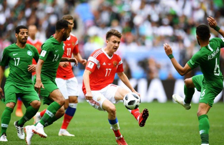 Chấm điểm Nga 5-0 Saudi Arabia: Xứng danh hy vọng