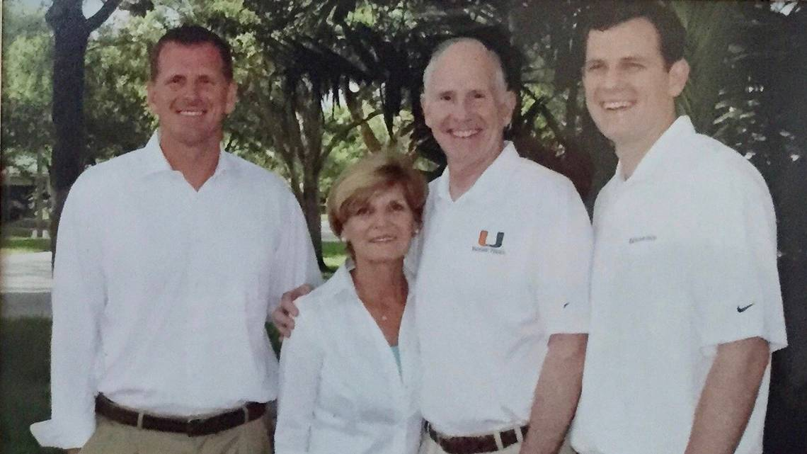 No need for cards. Every day is Fathers Day for UM basketball coach Jim Larranaga. hrld.us/2MqSHPp