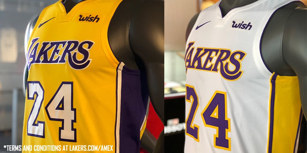 uk availability 36d67 8c918 Lakers Team Shop on Twitter: