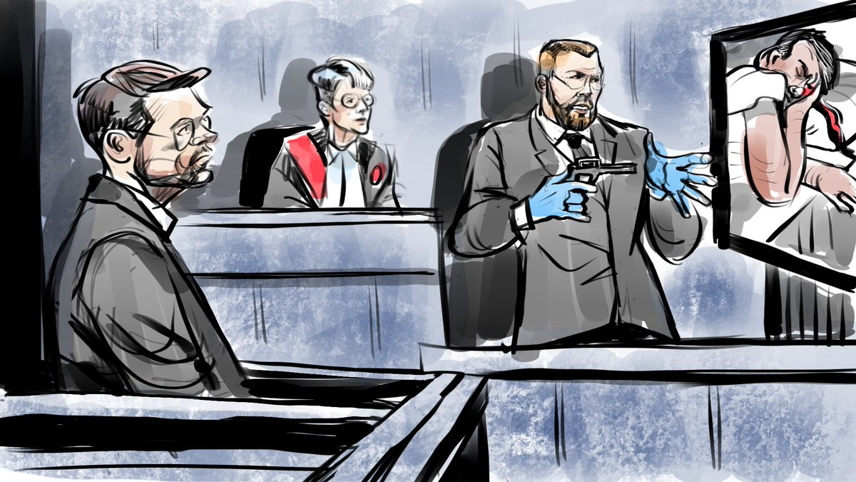 680 News Toronto On Twitter Toronto Police Forensic Expert Says Wayne Millard Would Have Had To Hold The Gun Upside Down And Use His Thumb To Pull The Trigger A Strange