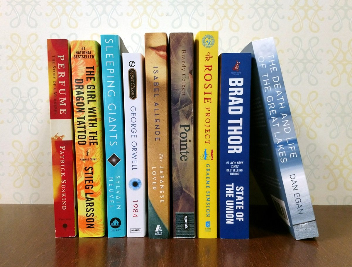 What our booksellers are reading this week: