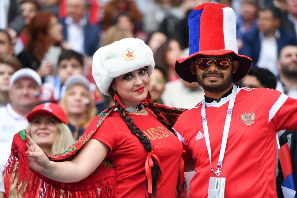 Con una goleada 5-0 de Rusia sobre Arabia Saudita arrancó el Mundial #Rusia2018 https://t.co/up0FybEfAd https://t.co/olfUbTGuZt
