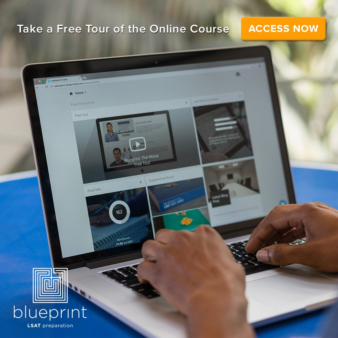 Blueprint lsat prep blueprintlsat twitter sign up for a free tour of our course and get access to some amazing lsat resources learn more here httpsblueprintlsatlsatonlinefree tour malvernweather