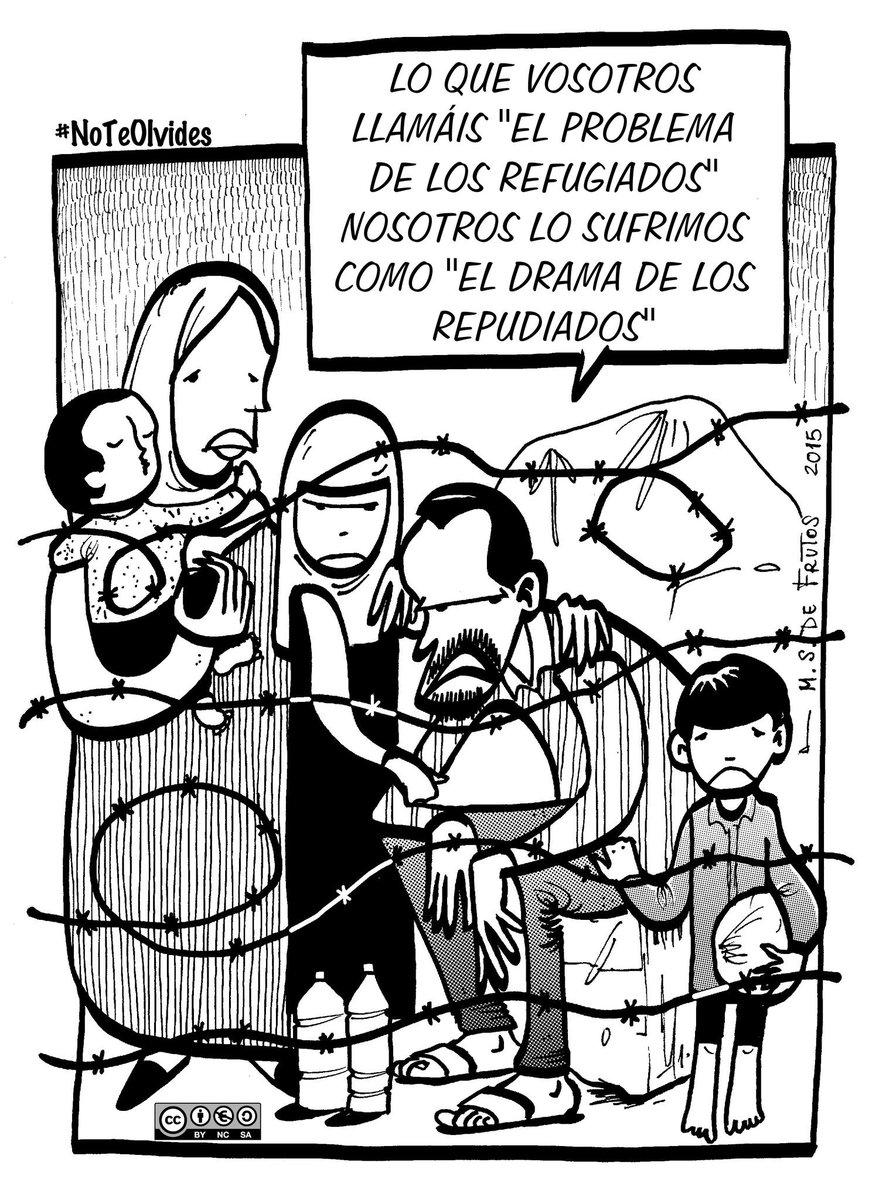 #NoTeOlvides de los refugiados Es necesario desbloquear esta situación cear.es/diez-ong-y-cer…