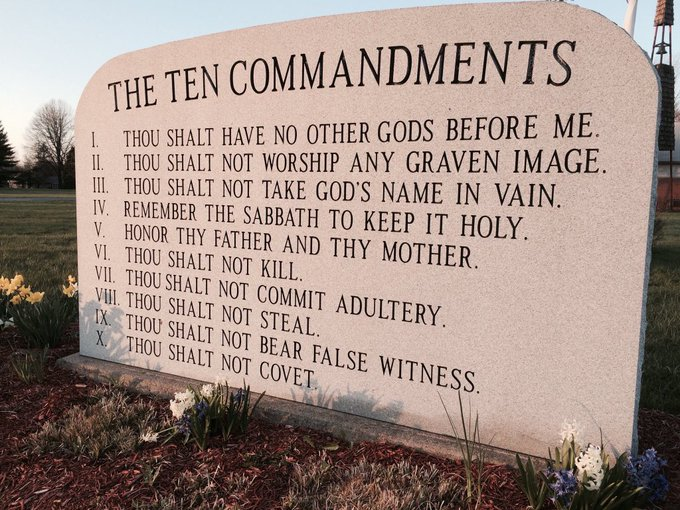 @Acosta Since they're quote only parts of the Bible, I'll throw in a biggie: Photo