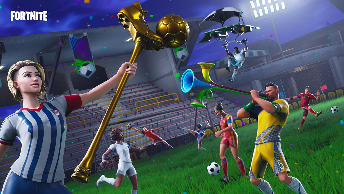 Fortnite On Twitter Goaaaaal Celebrate That Victory With The New