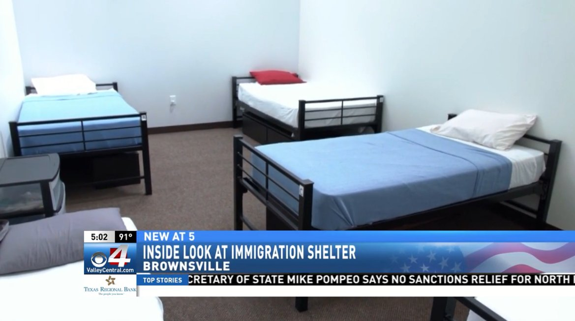 8f895322 First Look: Government releases video of Casa Padre shelter in Brownsville  ...