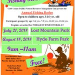 Make plans to bring the kids to Cobb Parks Fishing Rodeos this summer! @cobbcountygovt @EastCobbPatch @EastCobbNewsNow @CobbLifeMag @WestCobbPatch @CobbNewsNow #parks #summer #fun