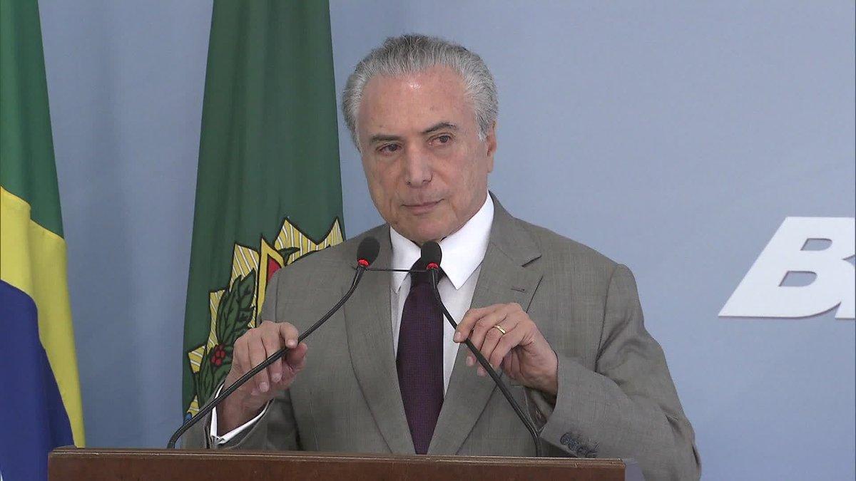 Polícia Federal cita presidente Temer na investigação sobre  tentativa de obstrução de justiça do ex-ministro Geddel Vieira Lima: https://t.co/6ixuzH5KQx #GloboNews via @camilabomfim