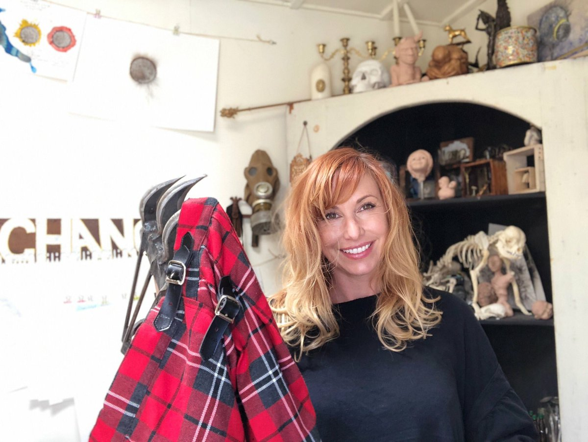 Incidentally, I still have the skirt from the Balloon Child myth in storage. Like Jamie I rarely throw anything away.  The claws are from a later episode duck tape episode but clearly there was a theme in my MythBusters times and it was a little Freddy Kruegerish. -- @KariByron