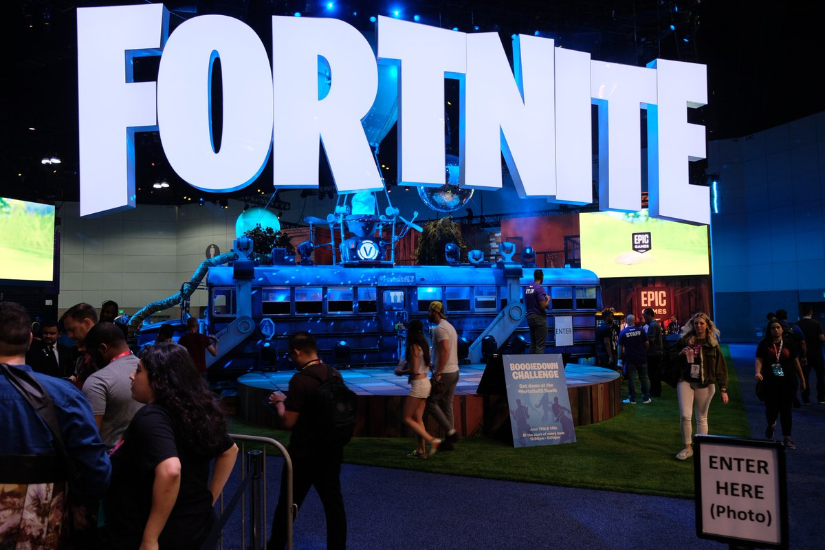 If the #FortniteE3 booth was a POI, what would you name it?