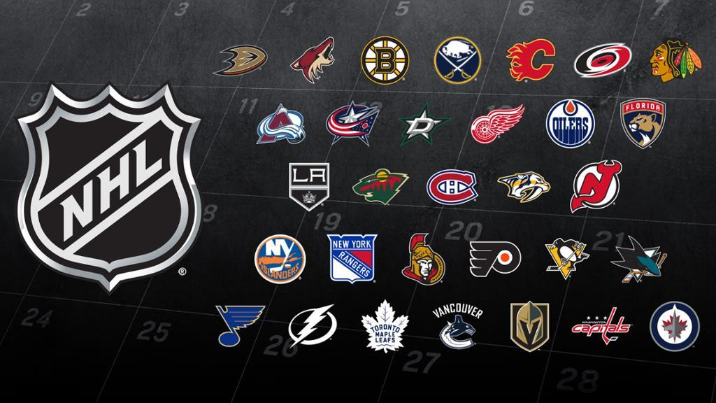 The NHL will announce the 2018-19 regular-season home openers for all 31 clubs on Wed., June 20 at 1 p.m. ET. The complete regular-season schedule will be revealed live on @NHLNetwork and streamed on atnhl.com/2LRunF4 on Thur., June 21 at 5 p.m. ET.