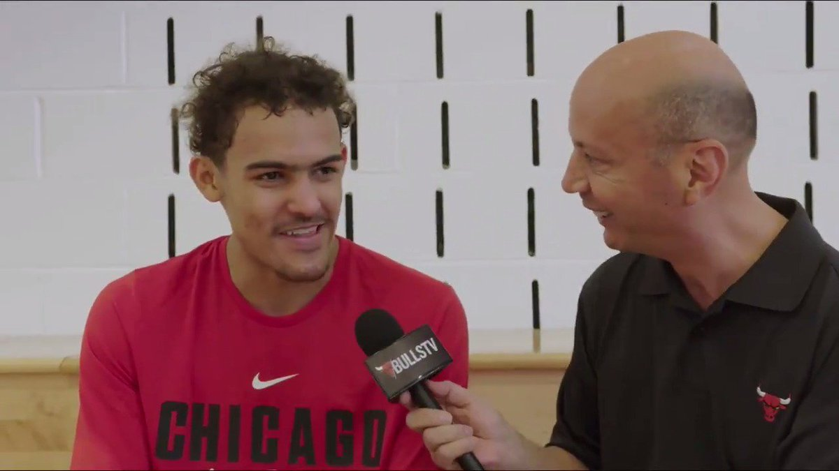 What would you want to know about Trae Young? NBA Draft prospect Trae Young sat down with BullsTV after working out with the #Bulls today at the Advocate Center: