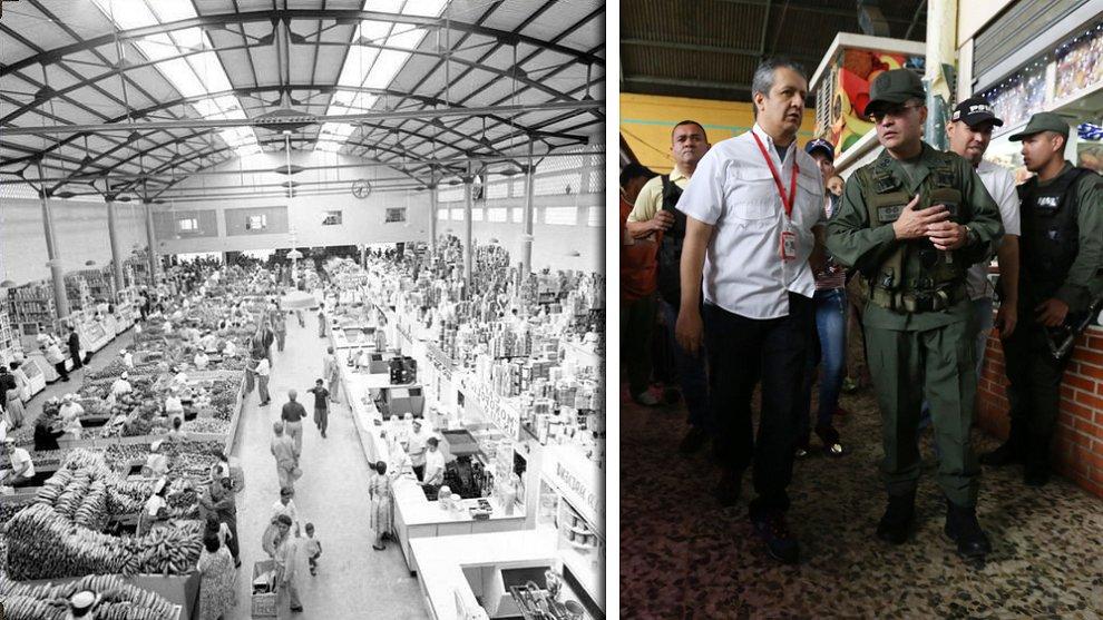 #TBTNTN24Ve Abundancia y variedad de productos: Así lucía el Mercado de Guaicaipuro en 1950 https://t.co/rLA4xVEkPb