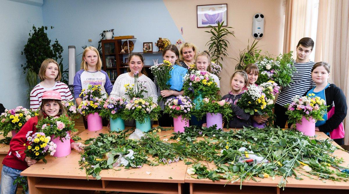 Днем рождения, картинки флористика для детей