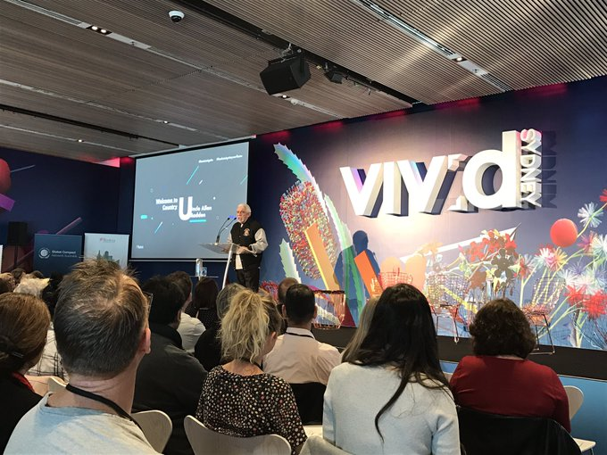 Great welcome to country by Uncle Allen Madden @BanksiaFdn #BanksiaIgnite #VividSydney Photo