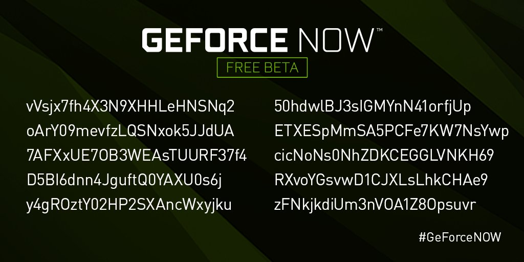 nvidia geforce now on twitter the last of our e32018 beta codes are here remember each code is unique and can only be used once - nvidia fortnite code free