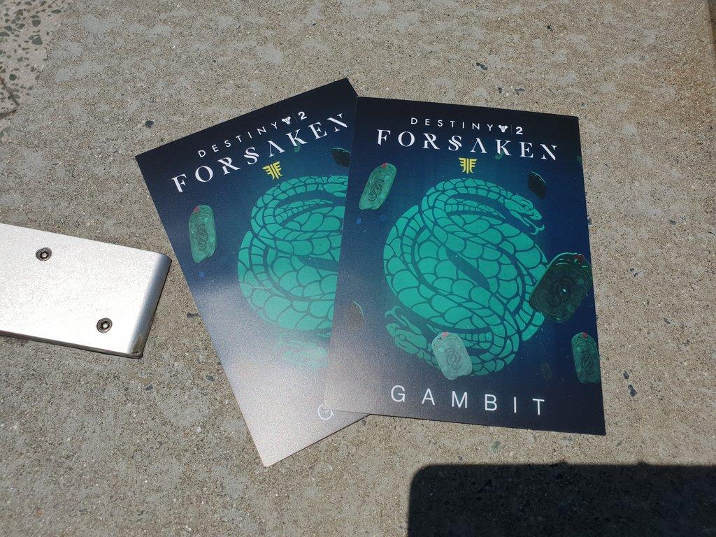 Gambit Emblem D2