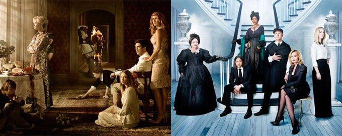 Ryan Murphy a annoncé que la saison 8 de American Horror Story sera le cross over entre Murder House (Saison 1) et Coven (Saison 3) ! #AHS8 Foto