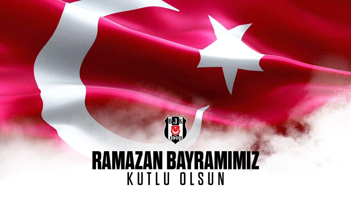 Ramazan Bayramımız kutlu olsun #Beşiktaş https://t.co/xGCUvcXNNr