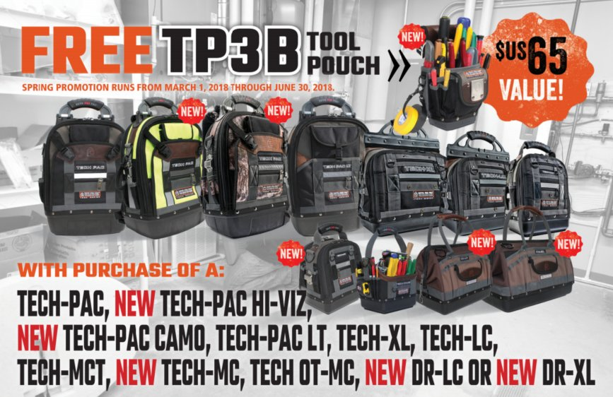 Veto Pro Pac TP3B Tool Pouch