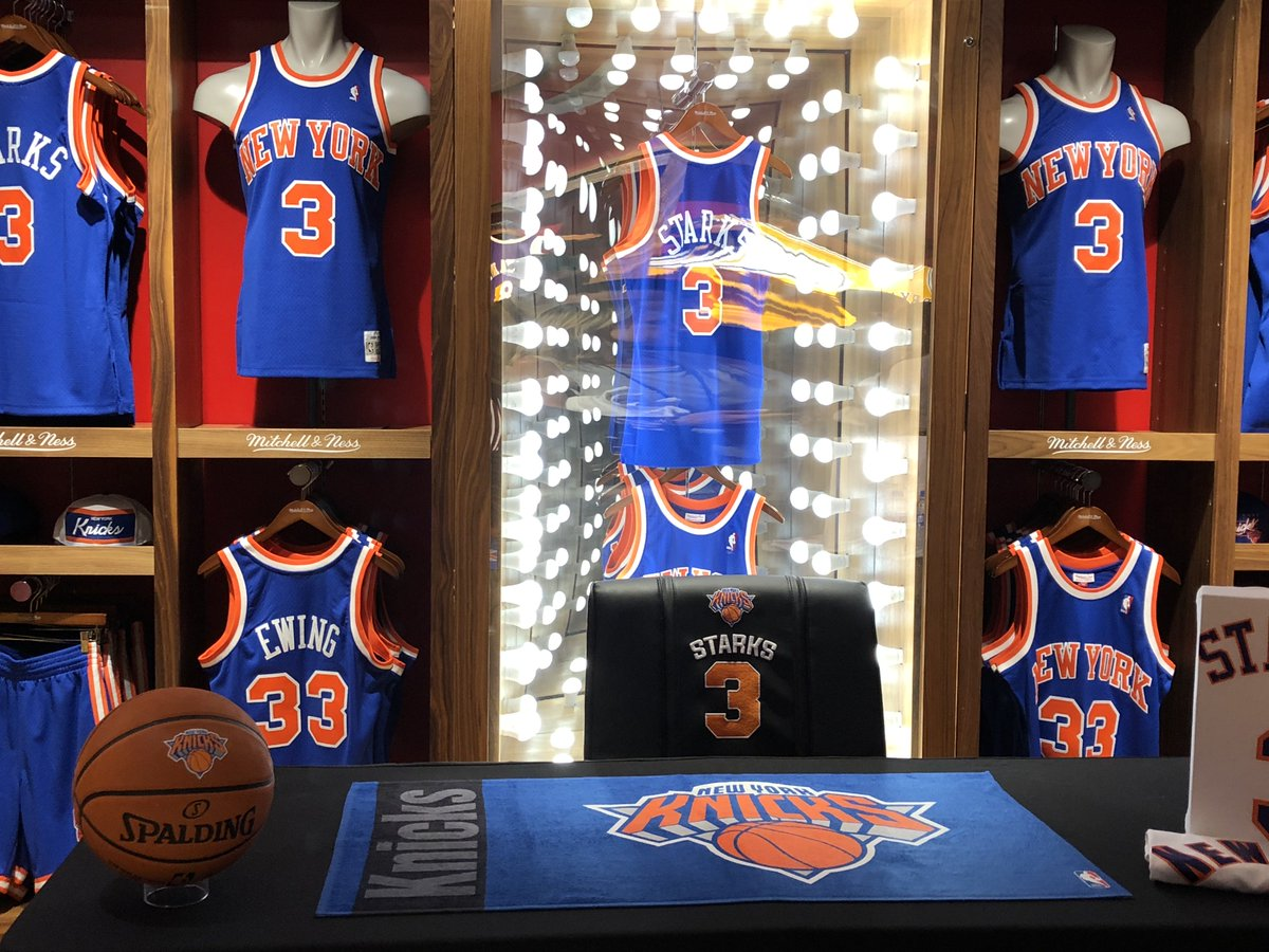 Getting ready for @nbastore @mitchell_ness appearance