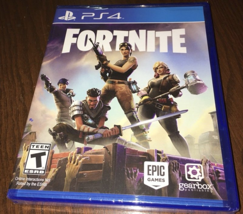I Have Fortnite In A Disc For Ps4