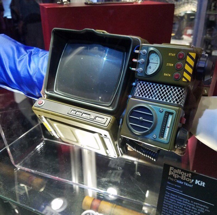 a889f3a0 ... the Pip-Boy 2000 MK VI from #Fallout76 at our #E32018⁠ ⁠ booth. You can  get your hands (or arm) on one here: http://beth.games/2yaEfYK  pic.twitter.com/ ...