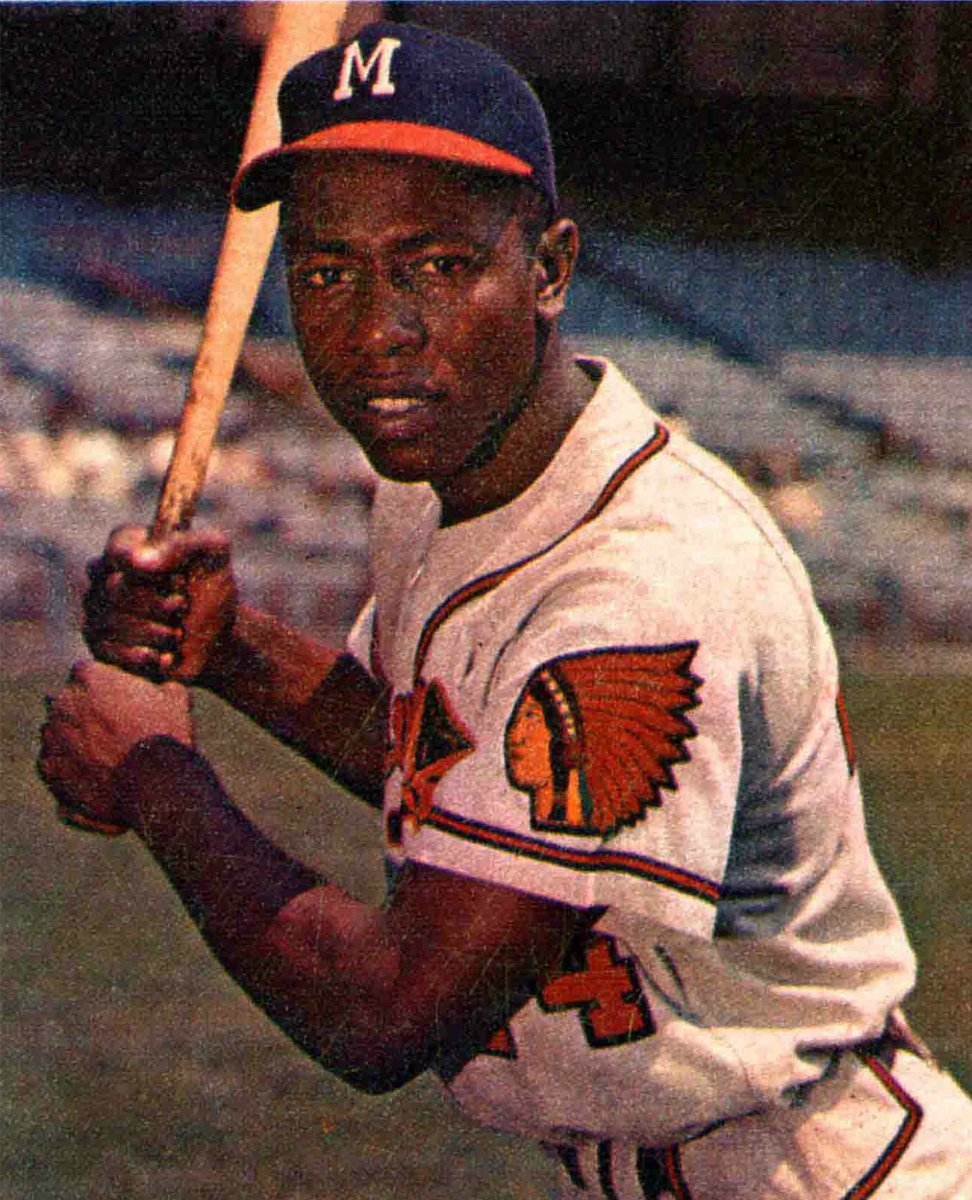 1960s Baseball On Twitter Today In Boston Braves Sign Hank Aaron As An Amateur Free Agent 1952 Tco QDUa2fooPw