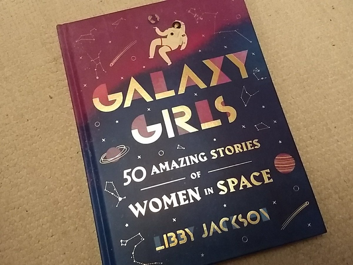 It's here!!! I've finally got my hands on #GalaxyGirls and it is gorgeous! USA and Canada you are so lucky!  You can get you own copy from all good bookshops but watch this space for a giveaway soon too....