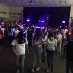 Image for the Tweet beginning: The 6th grade GLOW dance
