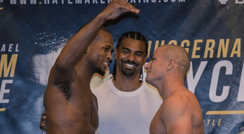 🥊 Heres how you can watch @Michaelpage247s second pro boxing fight for @HayemakerBoxing tomorrow evening - feat. a pre-fight interview with @SandhuMMA See here 👉🏻mmanytt.com/latest-news/ho… #boxing #MMA