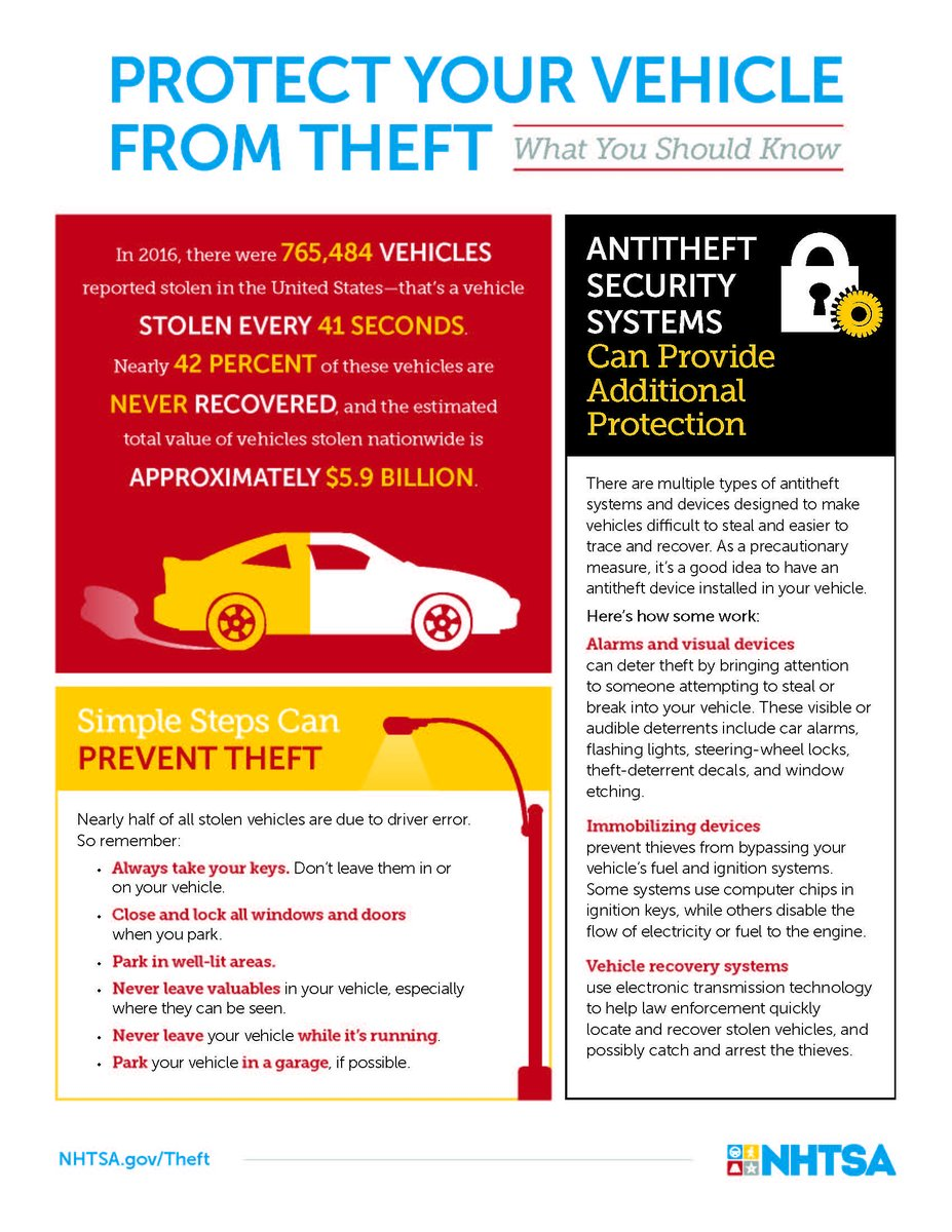 lapd devonshire on twitter protect your vehicle from theft
