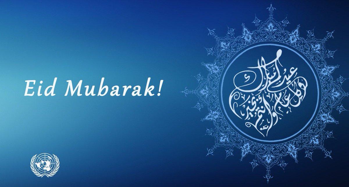 #EidMubarak! Wishing all our followers who are celebrating a happy and peaceful #EidAlFitr.