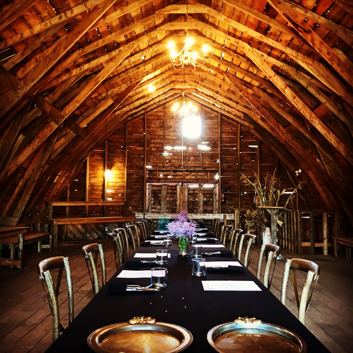 Old Red Barn Dairy Farm Five Courses Highlighting Local Producers And Their Hard Work