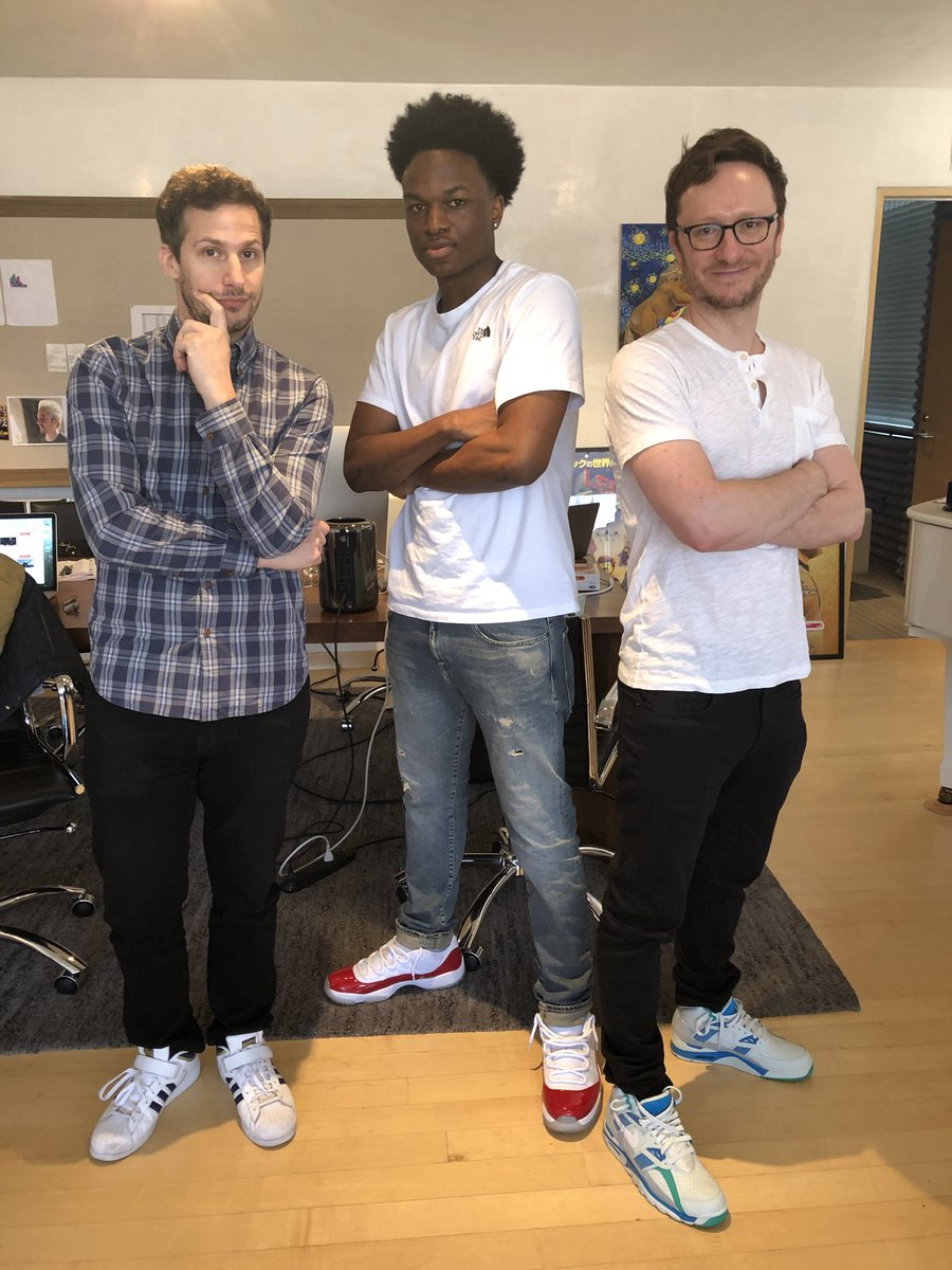 Kicked it with some legends today ✊🏾 @thelonelyisland