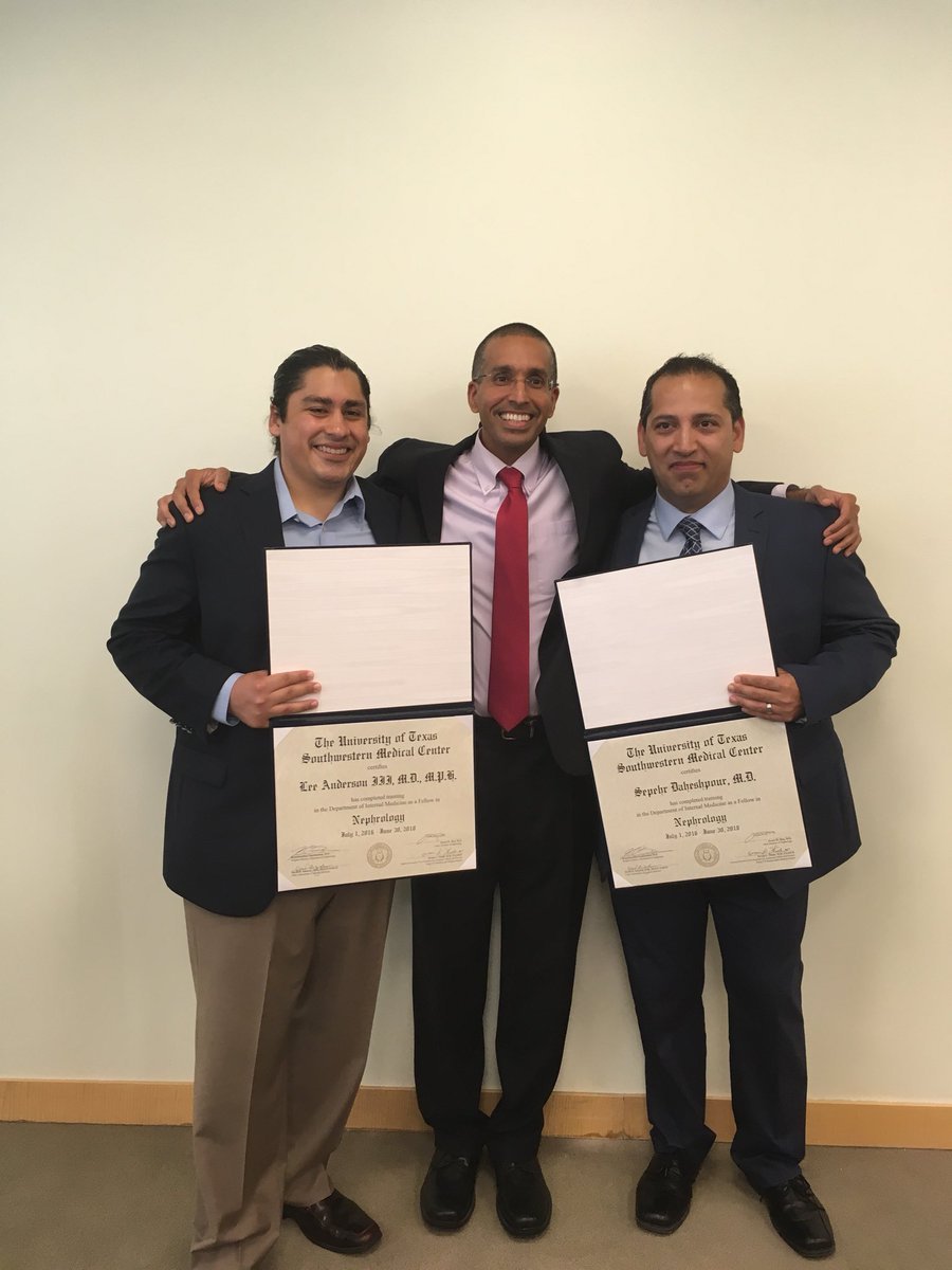 2018 Nephrology Fellowship Graduations