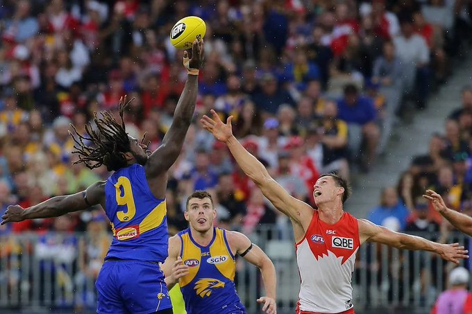Official Play: 2u Both Teams to Score 68+ YES @ $ (365) - WCE lowest team score in 2018 = 75 - Swans have scored 68+ in their last 12 matches at the SCG - Both teams have scored 68+ in 6 of the last 7 Friday night matches at the SCG #AFLSwansEagles #AFL Photo