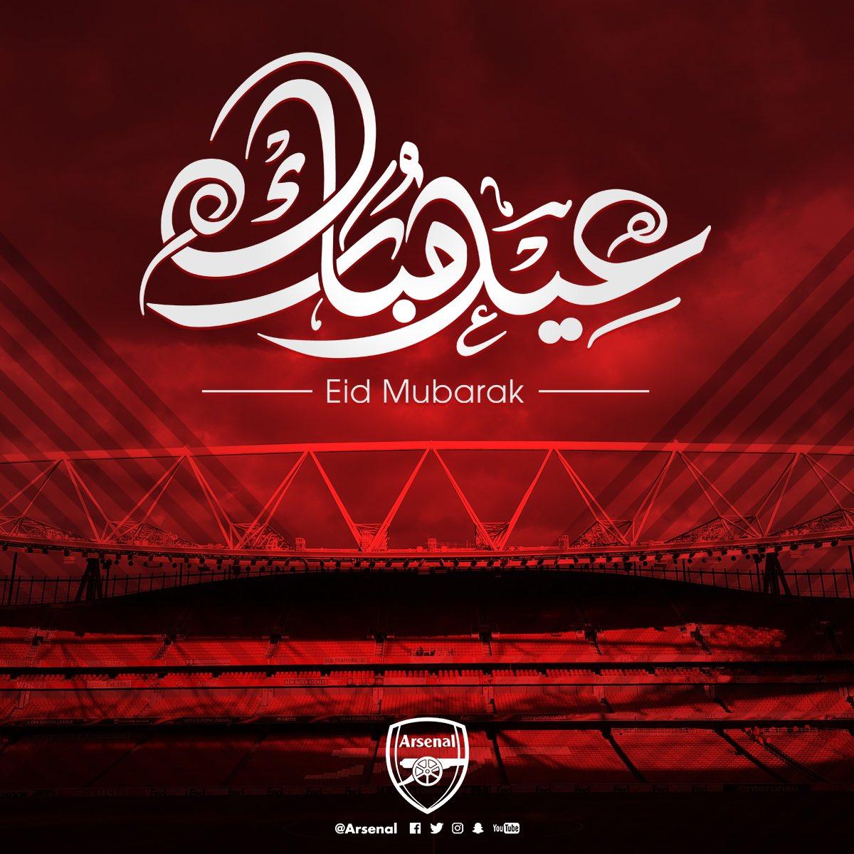 Eid Mubarak to everyone celebrating around the world, from all of us here at Arsenal 😃 #EidMubarak